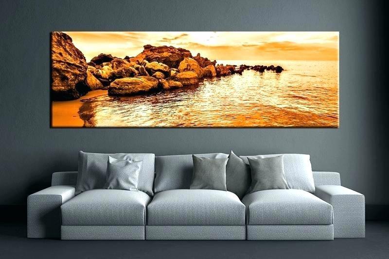 3 A Huge Wall Art is Enough via simphome