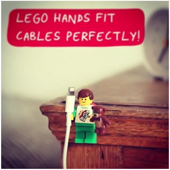 1 Lego hand holder via simphome