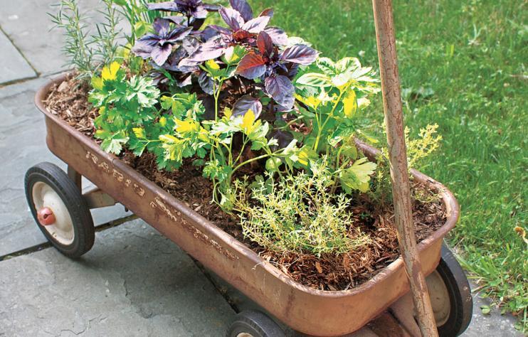 6 Wagon Planter via simphome