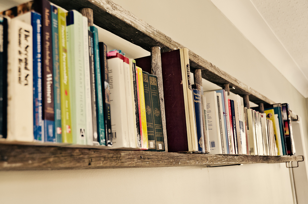 simphome horizaontal ladder bookshelf