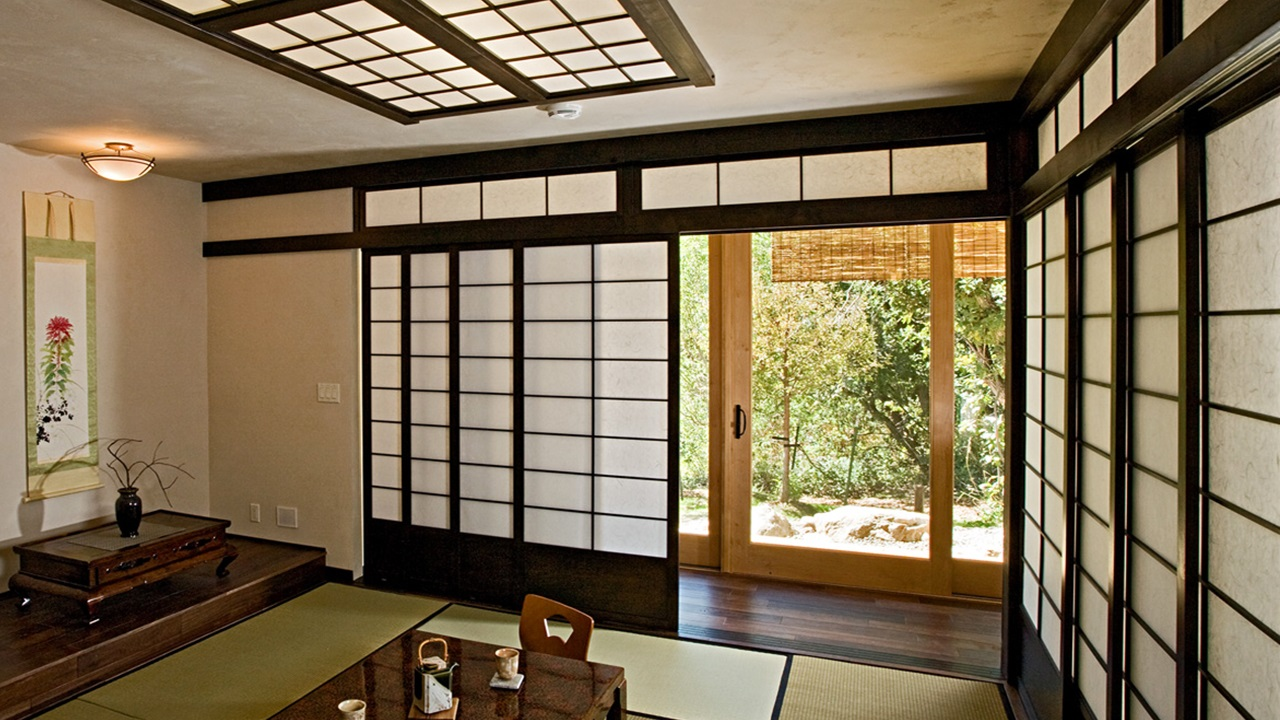 14 Shoji japanese home inspiration via Simphome