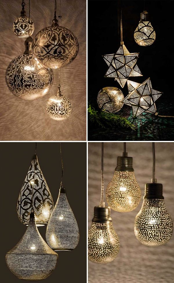 15 moroccan lighting