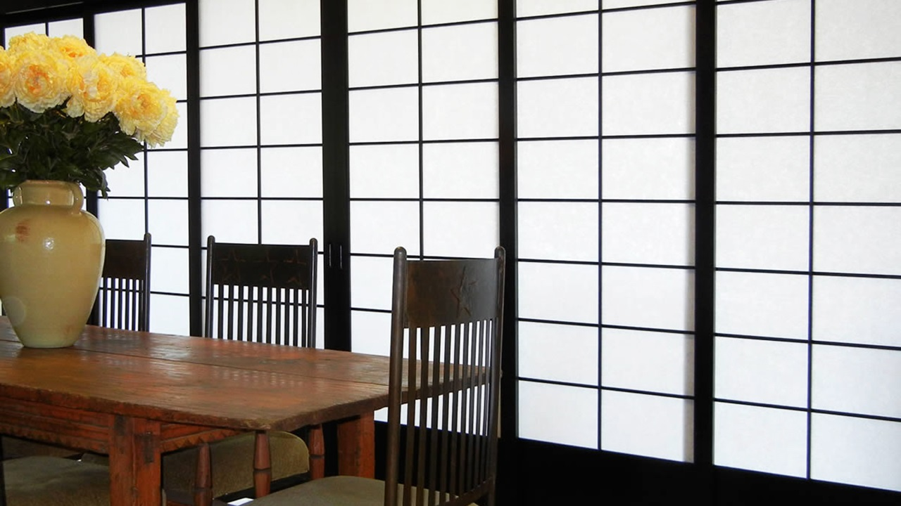 16 Shoji japanese home inspiration via Simphome