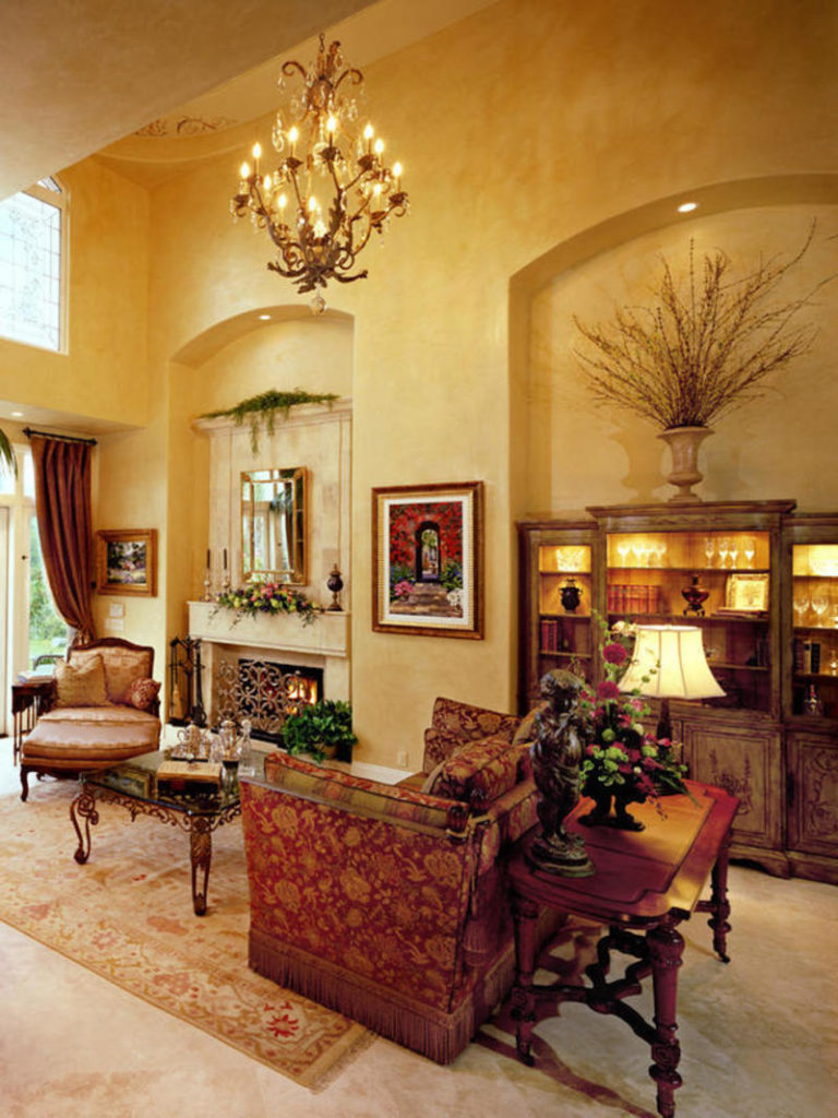 2 Furniture Tuscan home decor via simphome 3