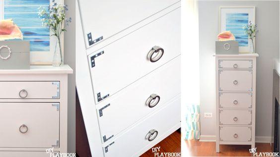 20 Turn a Hemnes dresser into a campaign dresser Simphome com