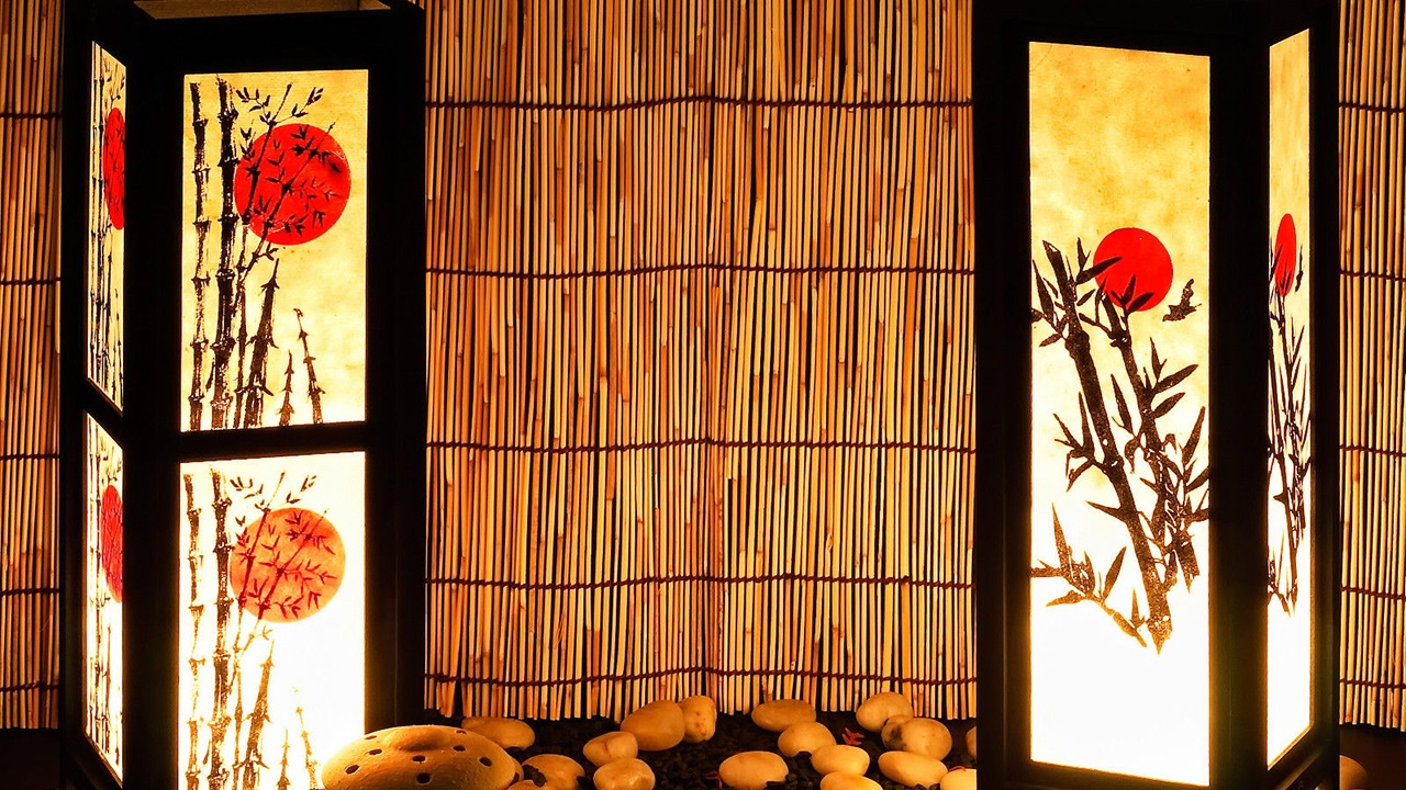 20 Lantern japanese home inspiration via Simphome