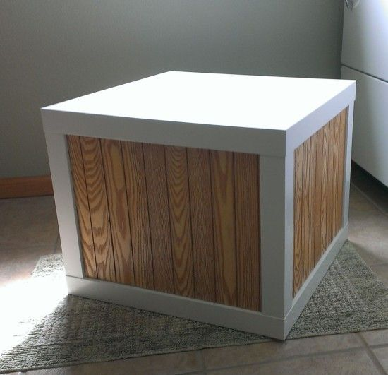 24 Double Ikea Lack tables via simphome