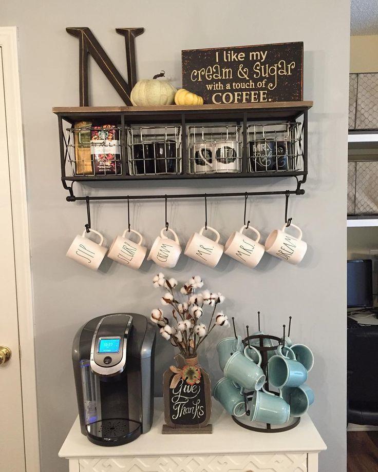 Pallet mug display