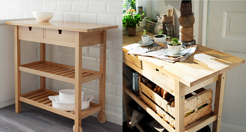 31 Customize a Förhöja cart look for your kitchen simphome com