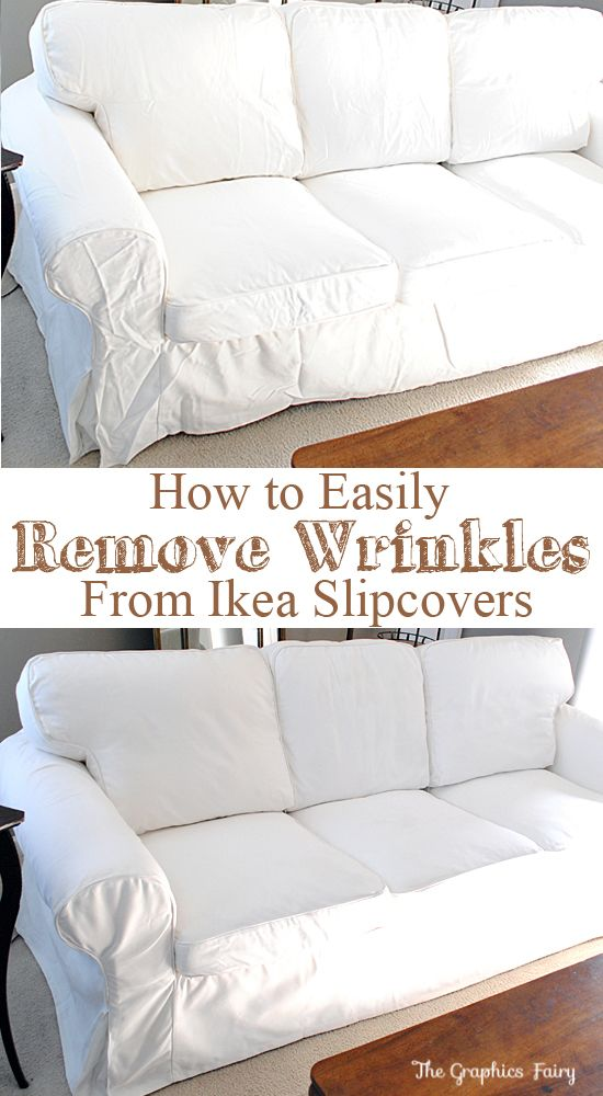32 Remove the wrinkles from your IKEA slipcovers Simphome com