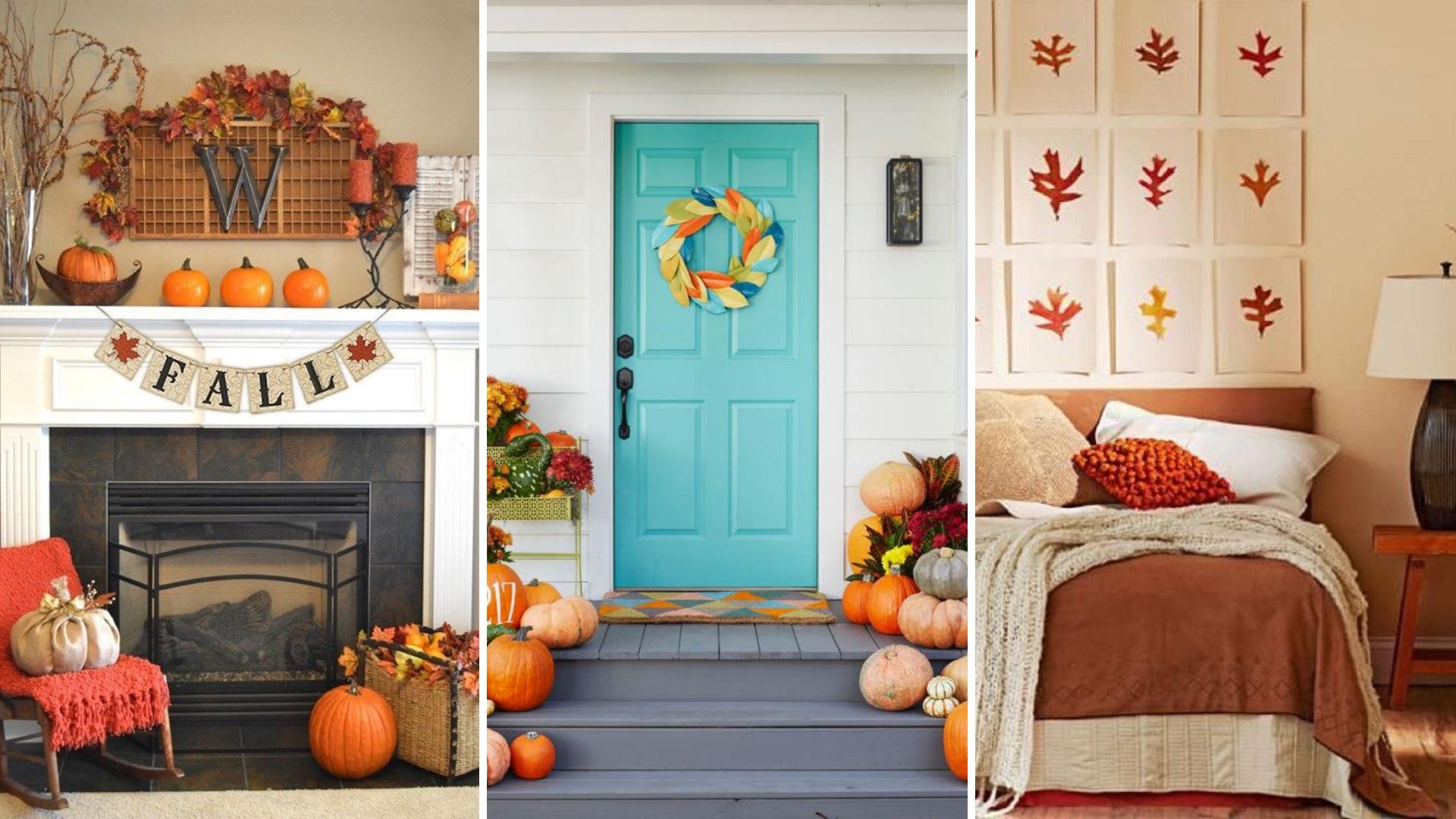 simphome fall home decor