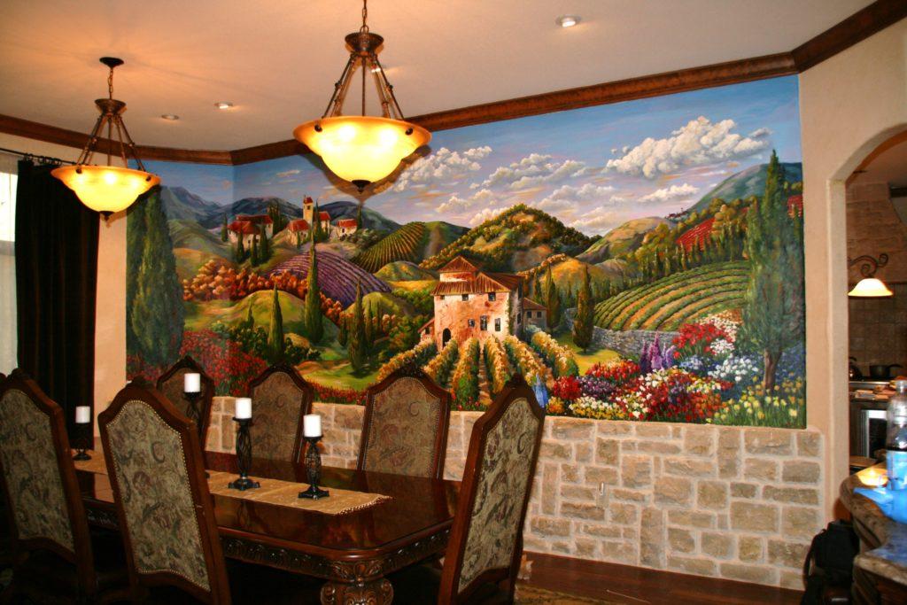 4 Art pieces Tuscan home decor via simphome 5