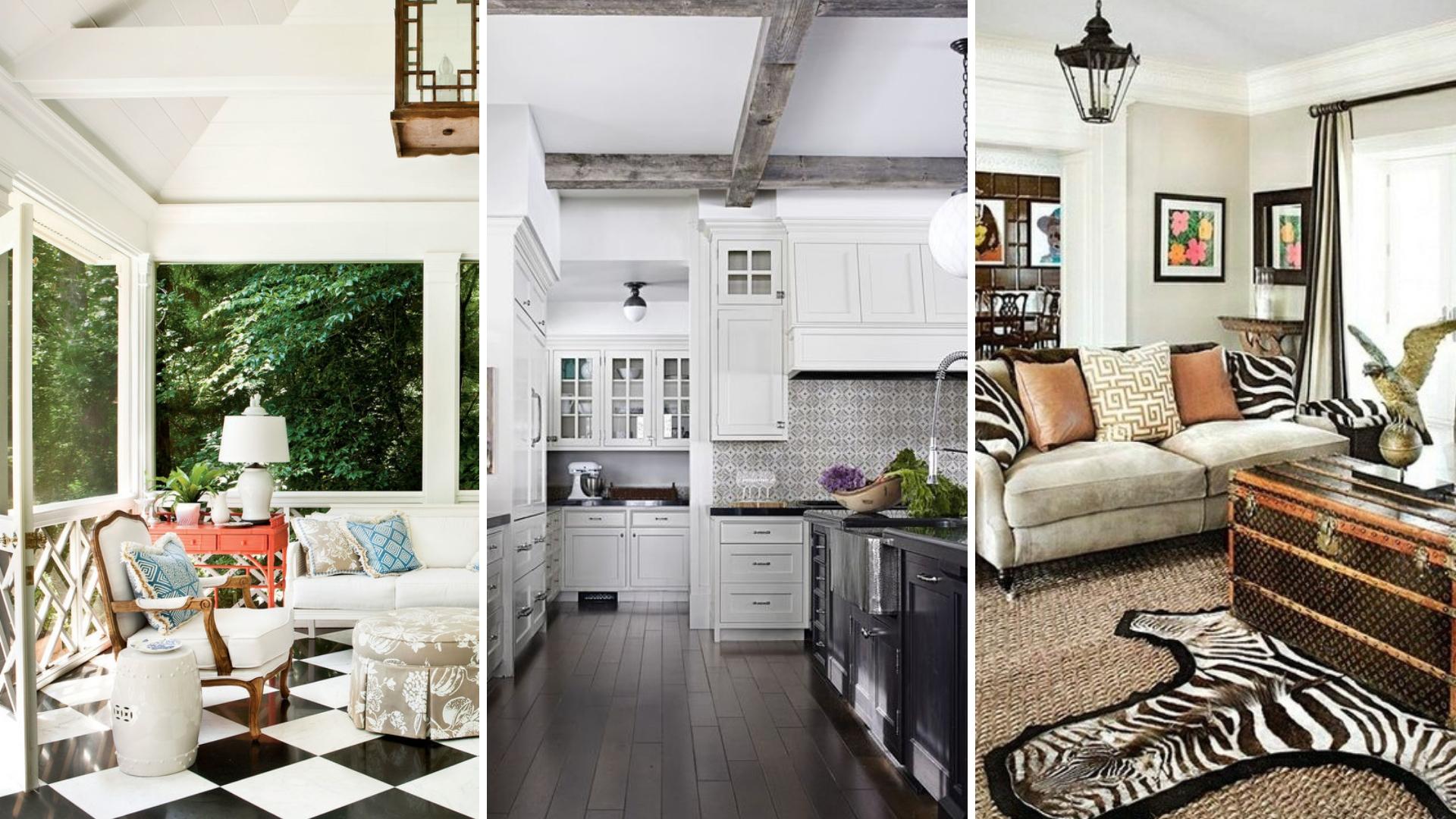simphome black and white home decor