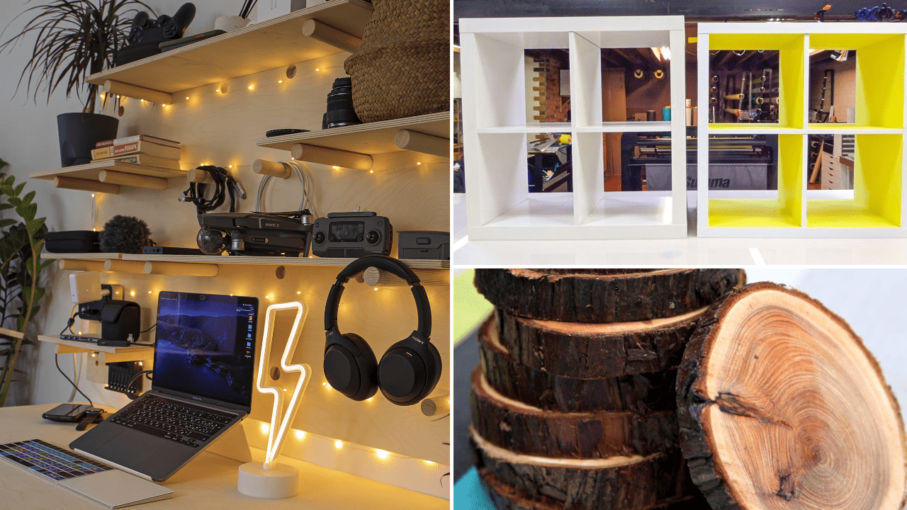 45 DIY Home Decor Wooden Projects via Simphome.com