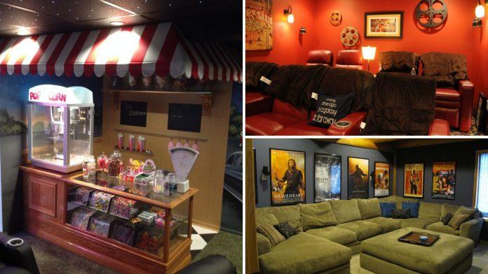 45 simphome home theatre decor