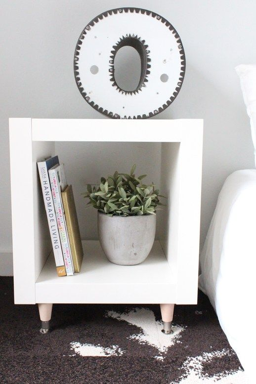 5 Add legs to an Expedit shelving unit Simphome com