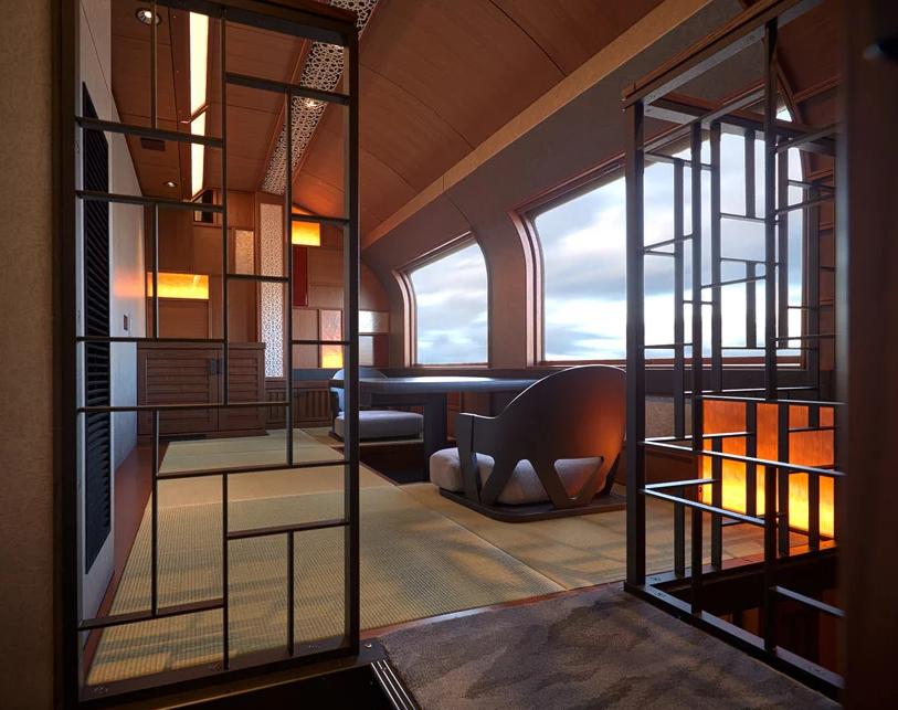 5 EAST JAPAN RAILWAY COMPANY suite shikishima good design award 2017 by Designboom