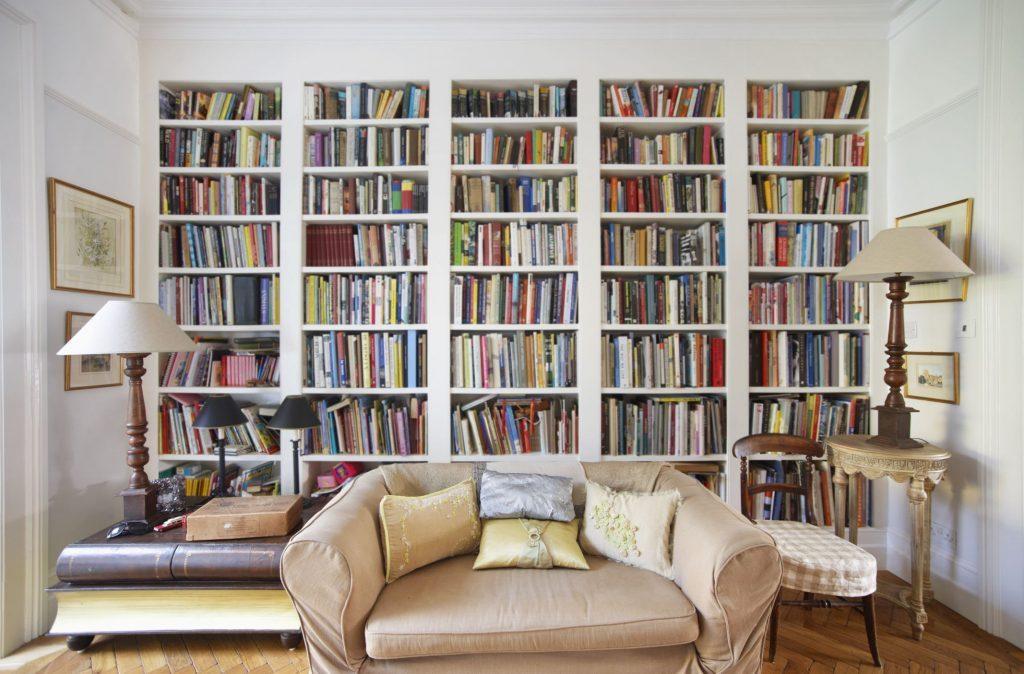 new arrangement for the shelves