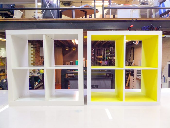 redone rustic cabinet