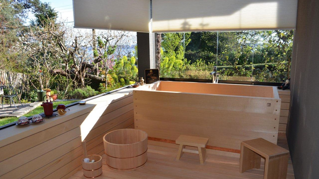 8 Ofuro japanese home inspiration via Simphome