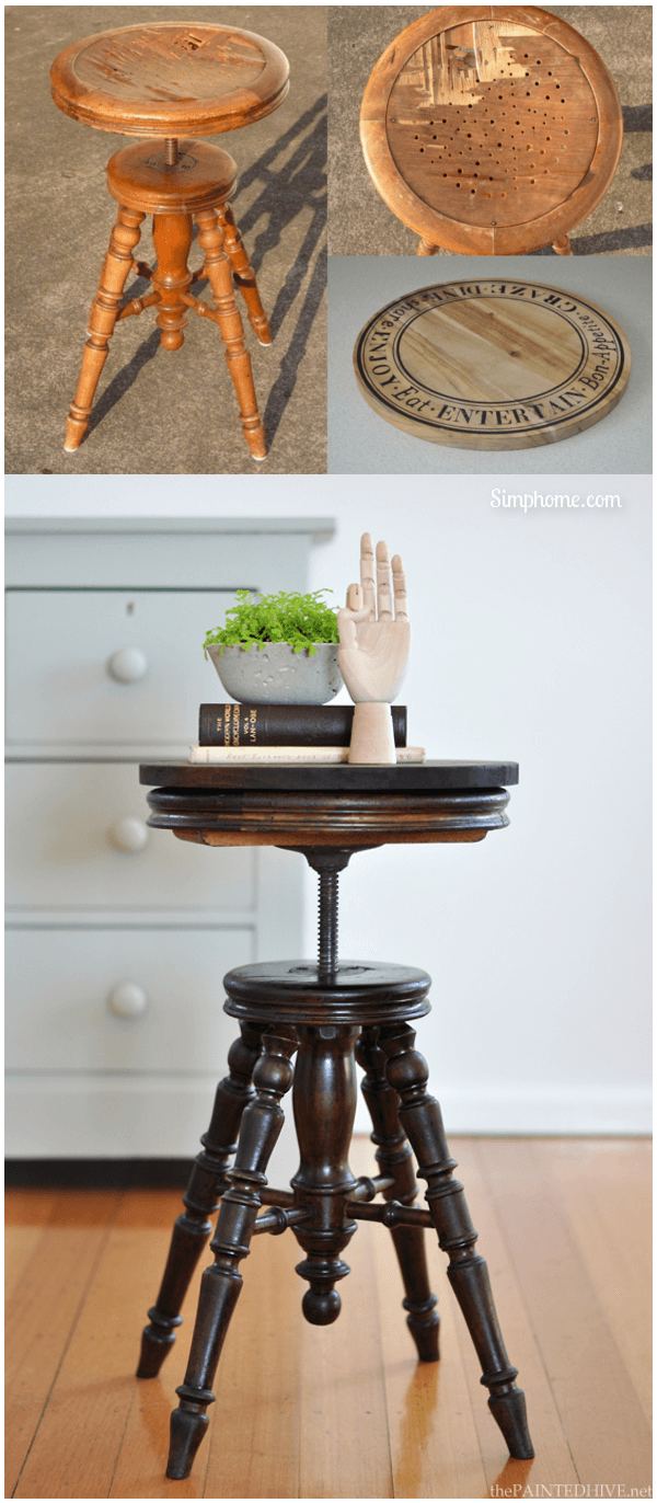 Charming Antique Piano Stool Haul 13 Simphome com p
