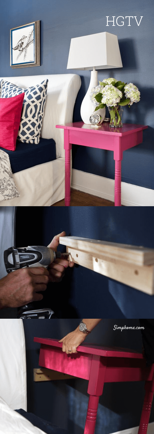 Creative and Chic DIY Nightstands 28 Simphome com p