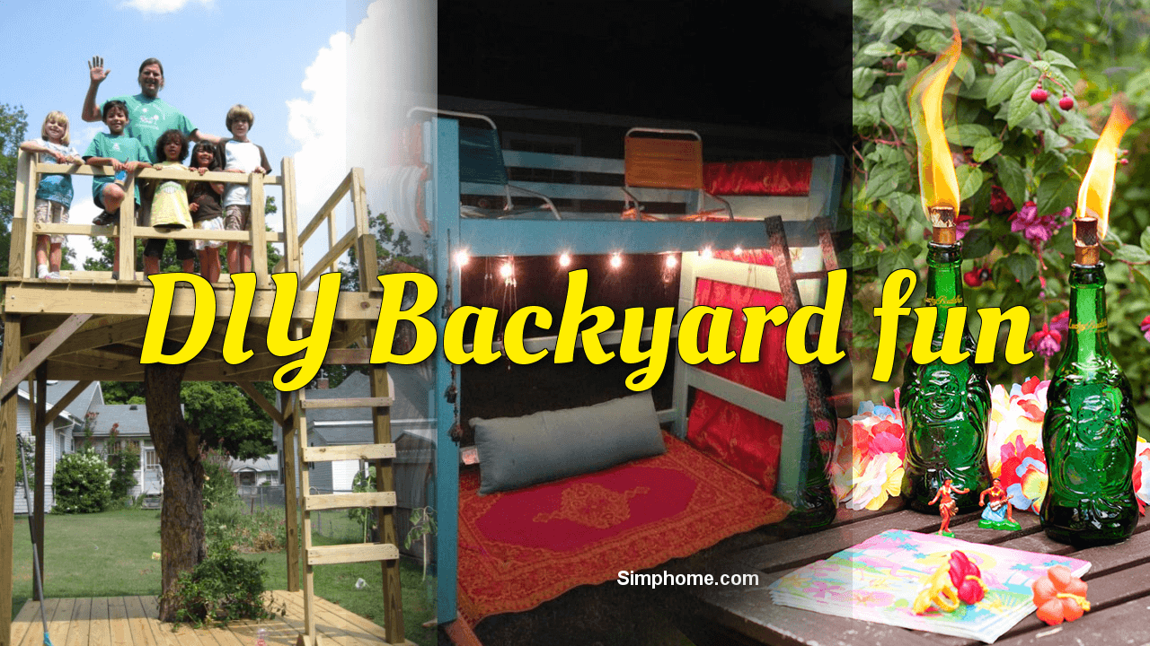 DIY Backyard fun ideas simphome com