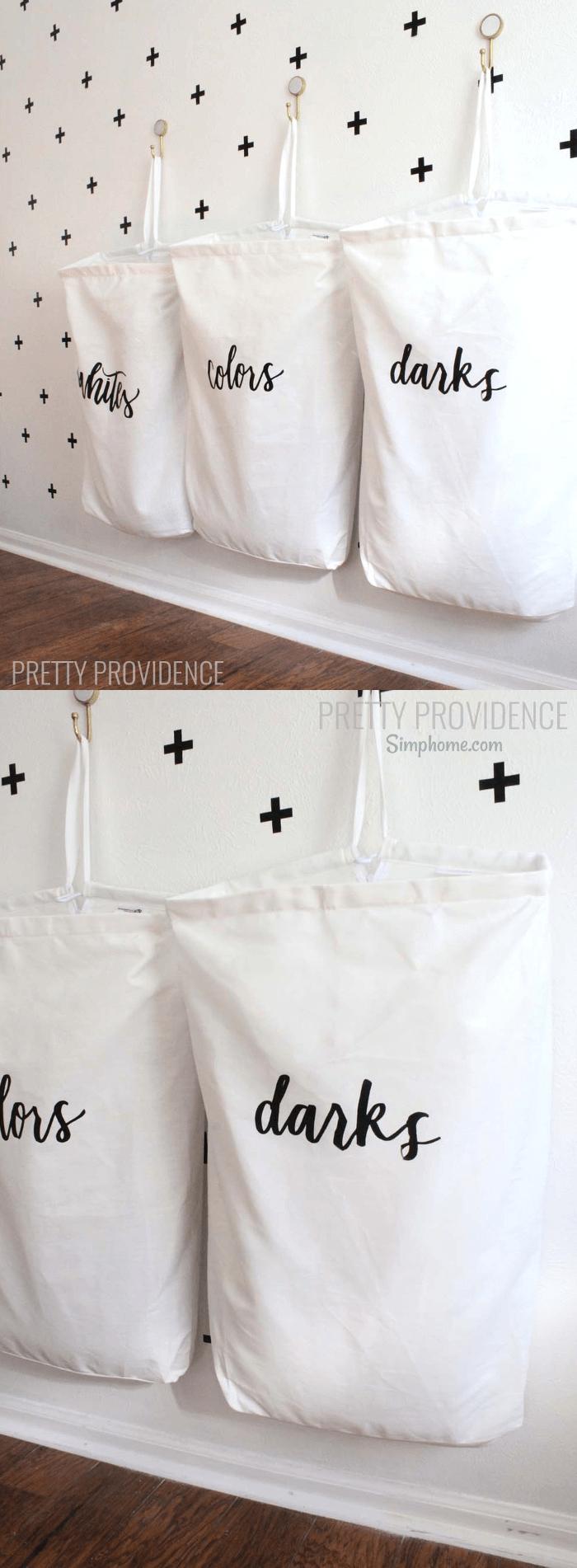 DIY LAUNDRY ORGANIZATION BAGS 20 Simphome com p
