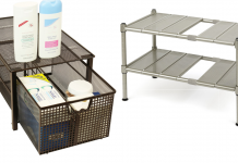 DecoBros Mesh Cabinet Basket Organize review via simphome