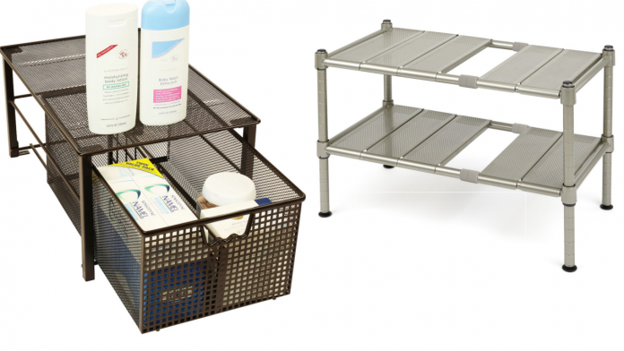DecoBros Mesh Cabinet Basket Organize review via simphome