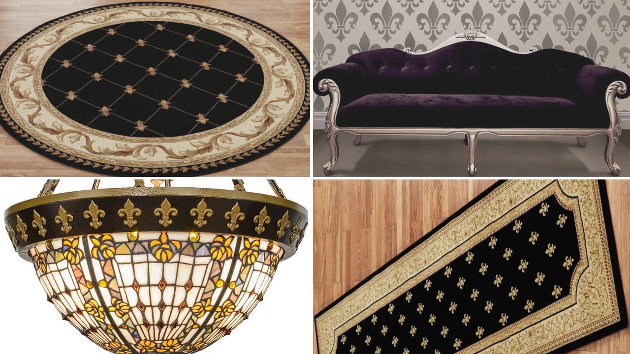 Fleur de lis home decor ideas by simphome featured