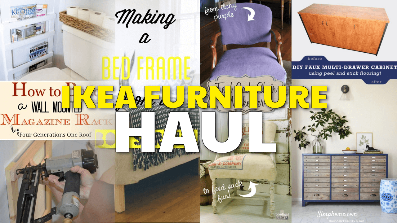 IKEA Furniture Hauls simphome.com 1