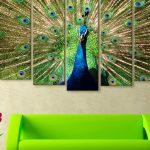 Peacock Home Décor Painting Simphome com