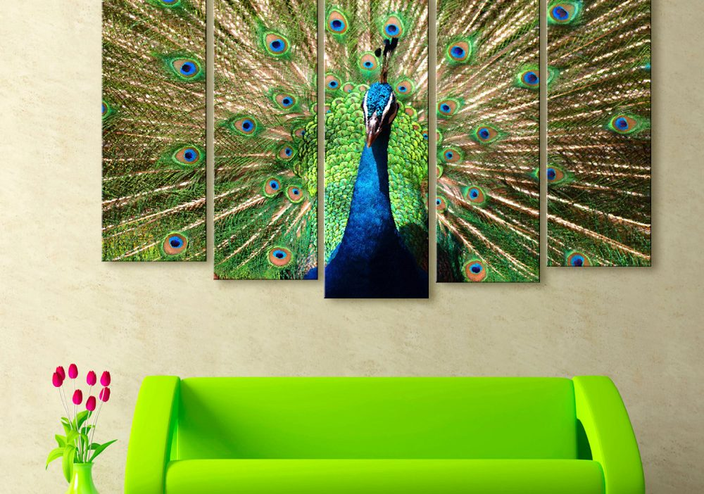 Peacock Home Décor Painting Simphome com