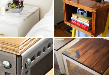 Side Table Hacks IKEA and Non IKEA via Simphome