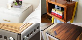 Side Table Hacks IKEA and Non IKEA via Simphome