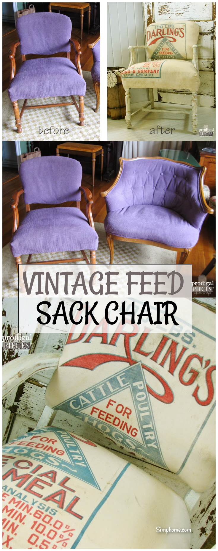 VINTAGE FEED SACK CHAIR 1 simphome com p