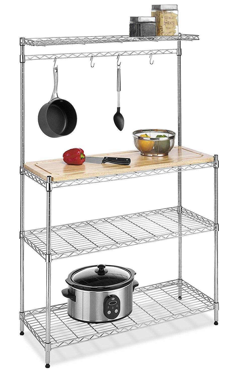 Whitmor 6054 268 Component Supreme Bakers Rack simphome com 1