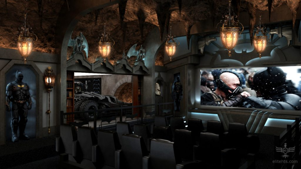 batcave theater room