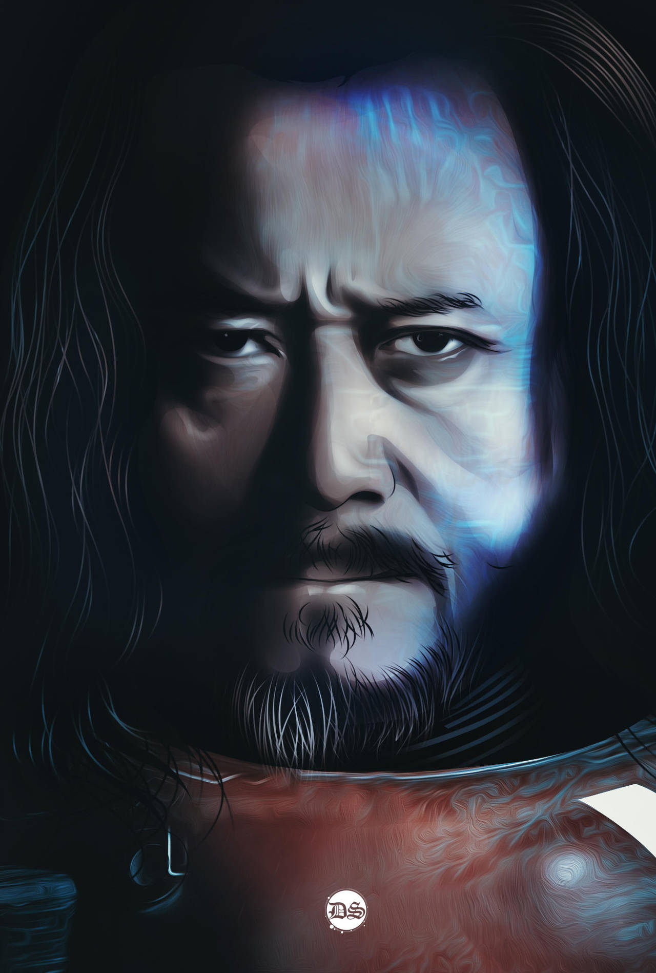 baze malbus rogue one by ultradomzyart Starwars poster 1 Simphome