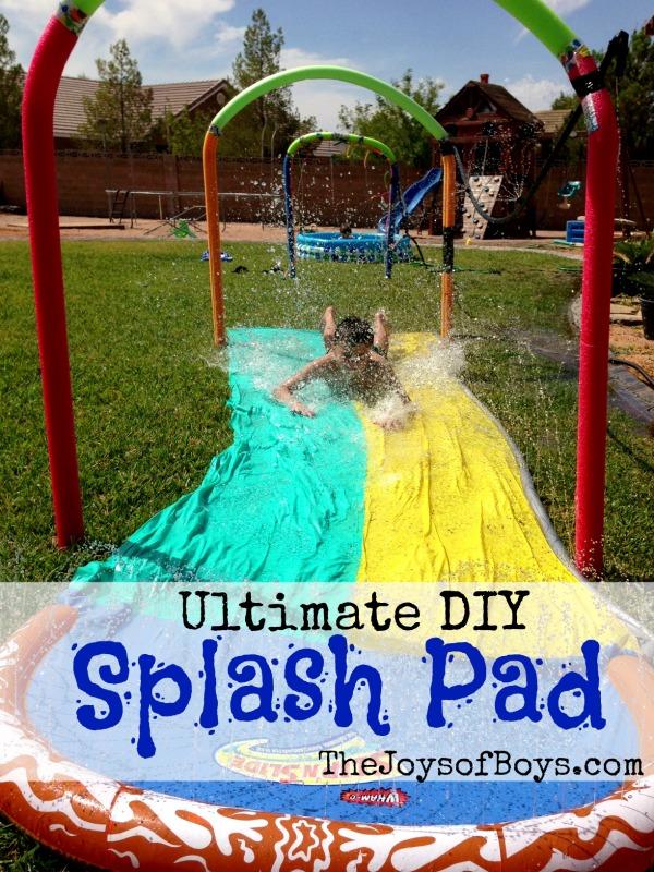 simphome backyard splash