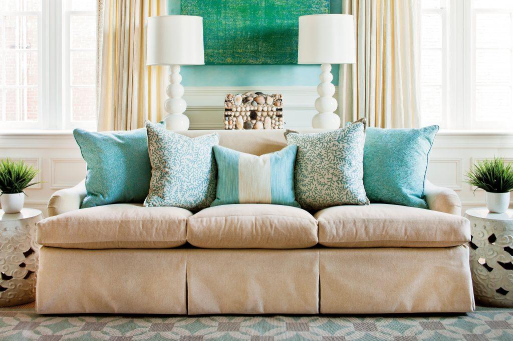 simphome living room pillow