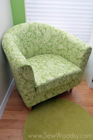 10 Recovering the Ikea Tullsta Chair 382x576 simphome com