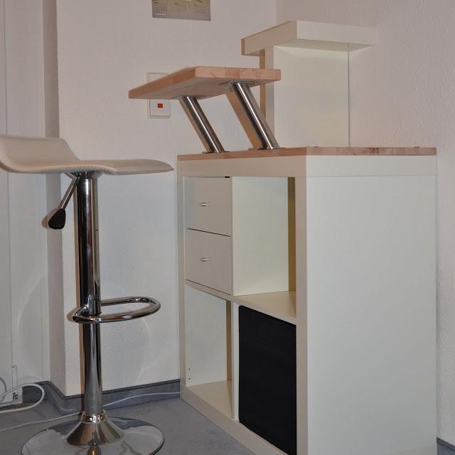 11 IKEA Hack iMac Standing Table simphome com