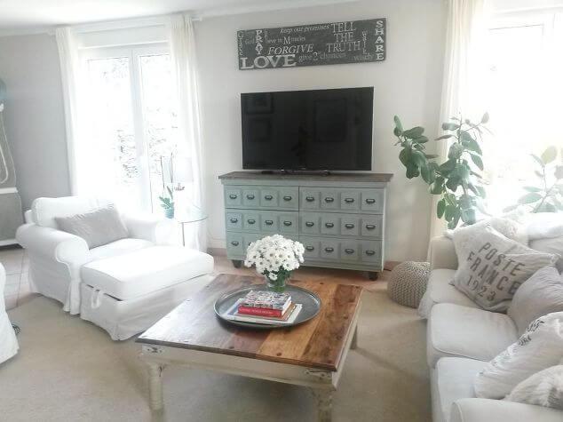 12 Tarva IKEA dresser to TV Cabinet featured at www simphome com