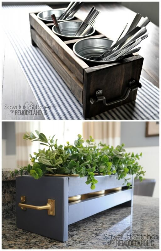 13 Build a Cheap and Easy Ikea Bucket Organizer featured at www simphome com