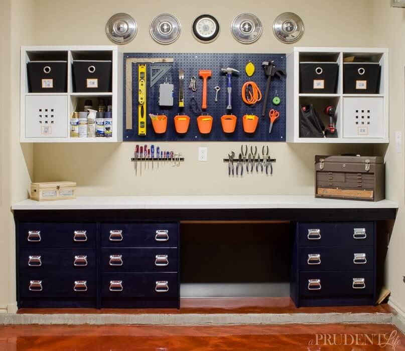 19 Ikea Hacked Garage Storage idea featured at www simphome com