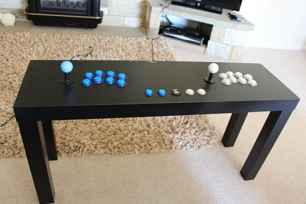 28 Ikea Lack TV Stand to A RASPBERRY PI IKEA RETROPIE ARCADE TABLE simphome com