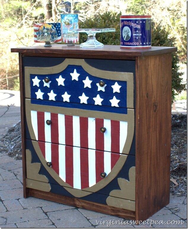 4 Patriotic Dresser Rast Hack featured at www simphome com