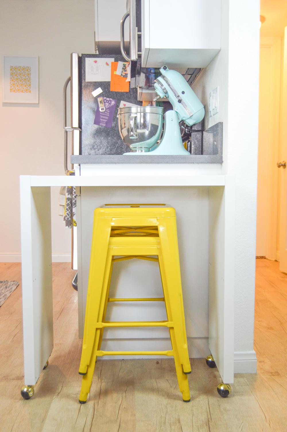 6 DIY Rolling Kitchen Island or Bar simphome com